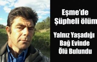EŞME'DE YALNIZ YAŞAYAN CEMAL BABA EVİNDE ÖLÜ...