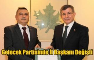GELECEK PARTİSİ UŞAK İL BAŞKANLIĞINA HACIM ULUDAĞ...