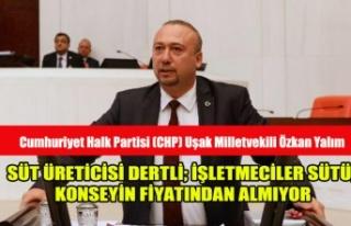 SÜT ÜRETİCİSİ DERTLİ; İŞLETMECİLER SÜTÜ,...