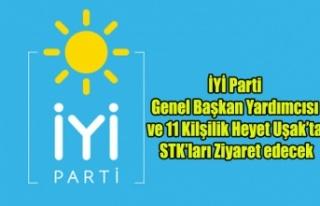 11 KİŞİLİK İYİ PARTİ HEYETİ UŞAK'TA...