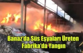 BANAZ'DA SÜS EŞYALARI ÜRETEN FABRİKA'DA...