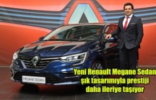 Yeni Renault Megane Sedan şık tasarımıyla prestiji...