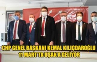 CHP GENEL BAŞKANI KEMAL KILIÇDAROĞLU UŞAK'A...