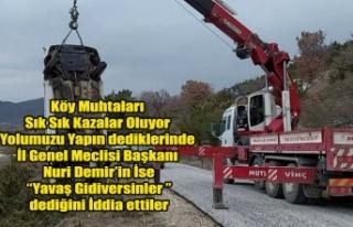 İL GENEL MECLİSİ BAŞKANI NURİ DEMİR'İN...