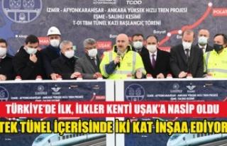 İLKLER KENTİ UŞAK'A TÜRKİYE DE İLK DEFA...