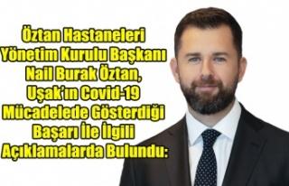 Öztan Hastaneleri Yönetim Kurulu Başkanı Nail...