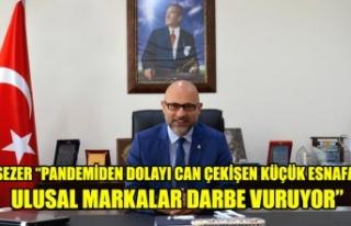 """SEZER """"PANDEMİDEN DOLAYI CAN ÇEKİŞEN KÜÇÜK..."""