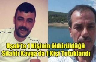 UŞAK'TA Kİ CİNAYET İLE İLGİLİ OLARAK 1...
