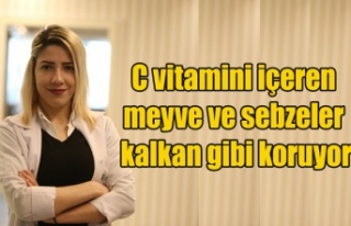 C vitamini içeren meyve ve sebzeler kalkan gibi koruyor