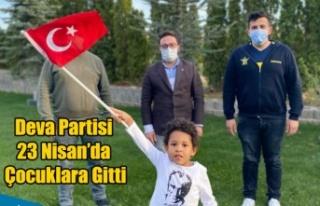 DEVA PARTİSİ UŞAK İL BAŞKANI 23 NİSAN'DA...
