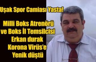 UŞAK BOKS İL TEMSİLCİSİ VE MİLLİ BOKS ATRENÖRÜ...