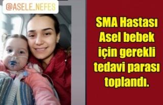 SMA Hastası Asel bebek için gerekli tedavi parası...