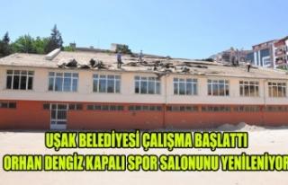 UŞAK BELEDİYESİ ORHAN DENGİZ KAPALI SPOR SALONUNU...
