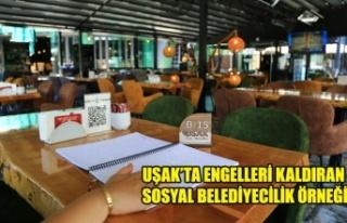 - UŞAK'TA ENGELLERİ KALDIRAN SOSYAL BELEDİYECİLİK...