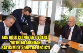 EGE BÖLGESİ'NİN EN DEĞERLİ YATIRIMLARINDAN...