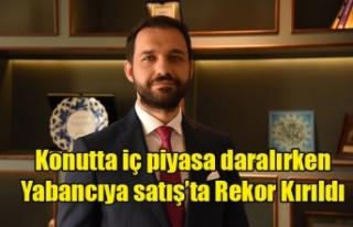 KONUTTA İÇ PİYASA DARALIRKEN YABANCIYA SATIŞ'TA...