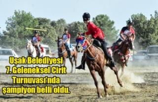 Uşak Belediyesince düzenlenen 7. Geleneksel Cirit...