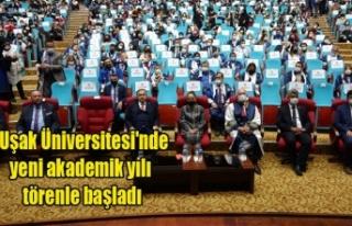 Uşak Üniversitesi'nde yeni akademik yılı...