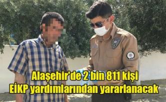 Alaşehir'de 2 bin 811 kişi EİKP yardımlarından yararlanacak
