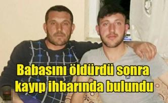 Uşak'ta Kokunç Cinayet. Babasını öldürdü sonra kayıp ihbarında bulundu