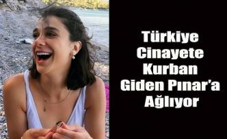 Türkiye Vahşi bir cinayete kurban giden Pınar'a ağlıyor