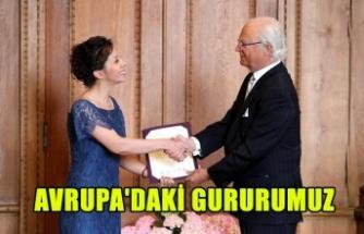 HATİCE ZORA AVRUPA'DAKİ GURURUMUZ OLDU