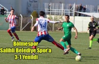 Bölmespor Salihli Belediye Spor'a 3-1 Yenildi