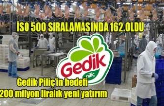 Gedik Piliç'in hedefi 200 milyon liralık yeni yatırım