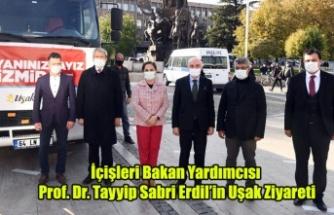 İçişleri Bakan Yardımcısı Prof. Dr. Tayyip Sabri Erdil'in Uşak Ziyareti