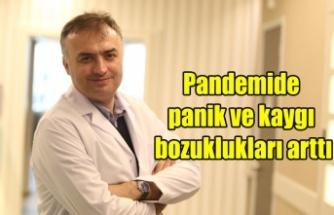 Pandemide panik ve kaygı bozuklukları arttı