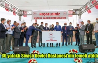 Sivaslı Devlet Hastanesi'nin temeli atıldı