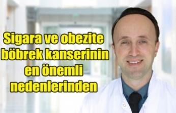 Sigara ve obezite böbrek kanserinin en önemli nedenlerinden