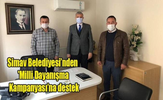 Simav Belediyesi'nden 'Milli Dayanışma Kampanyası'na destek