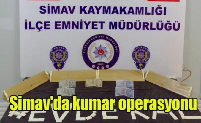 Simav'da kumar operasyonu