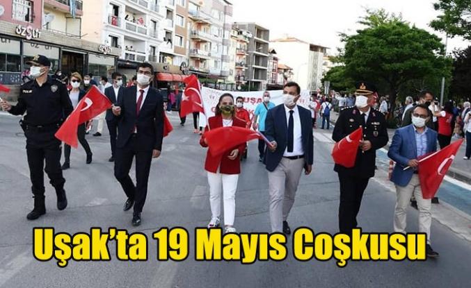 UŞAK'TA 19 MAYIS KUTLAMALARI