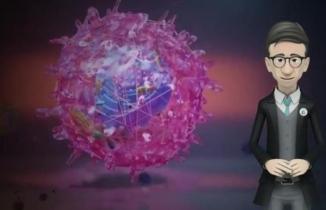 Başkan Öküzcüoğlu çocuklara animasyonla korona virüsünü anlattı